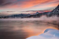 Der-dampfende-See