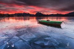 Gefangen im Eis