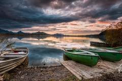 Autumn-Boats