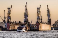 Harbor-Cranes