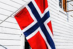 Norwegische-Flagge