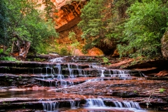 Canyon-Kaskaden